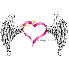 225x225 Angel Wingheart Tattoo Tattoos Winged Heart