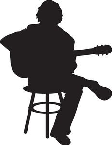 232x300 Guitar Player Clipart Image