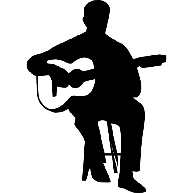 626x626 Flamenco Guitar Player Icons Free Download