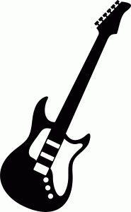 185x300 Free Svg Bass Guitar Silhouette Cricut!!! Guitars