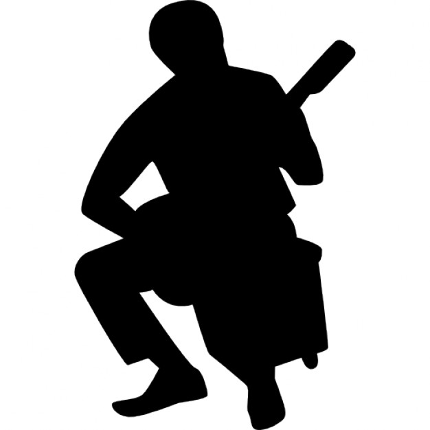 626x626 Flamenco Guitar Player Silhouette Icons Free Download