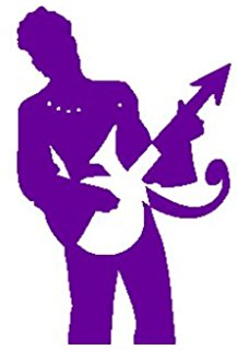 218x320 Prince The Artist Icon Silhouette 6 Purple Vinyl Car