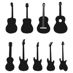 236x236 Guitar Black And White Guitar Clipart Black And White Images