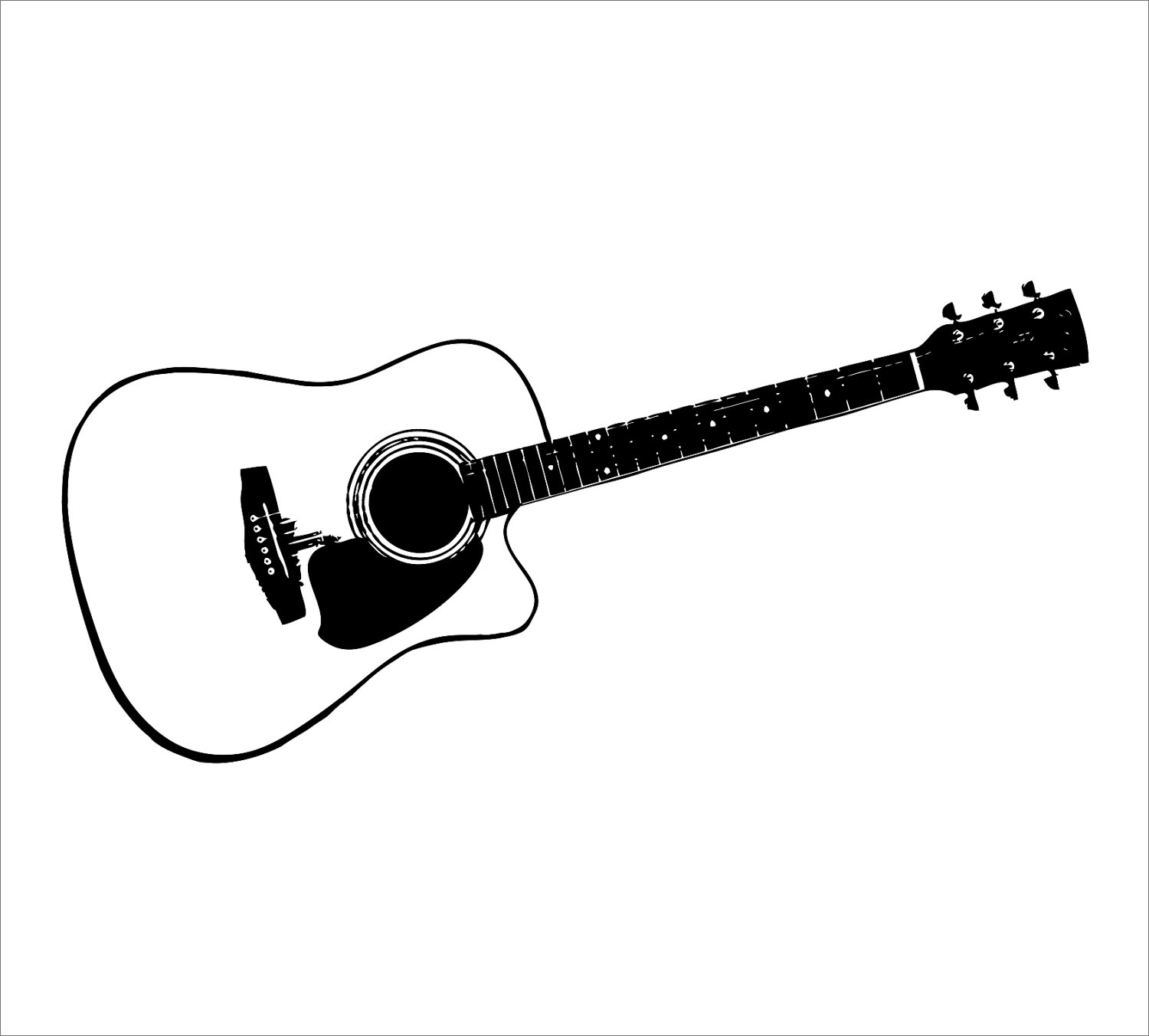 guitar silhouette vector at getdrawings com free for personal use rh getdrawings com victor guitars denver colorado vector guitar chords free