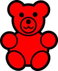 gummy bear silhouette at getdrawings com free for personal use rh getdrawings com gummy bears clipart gummy bear clipart