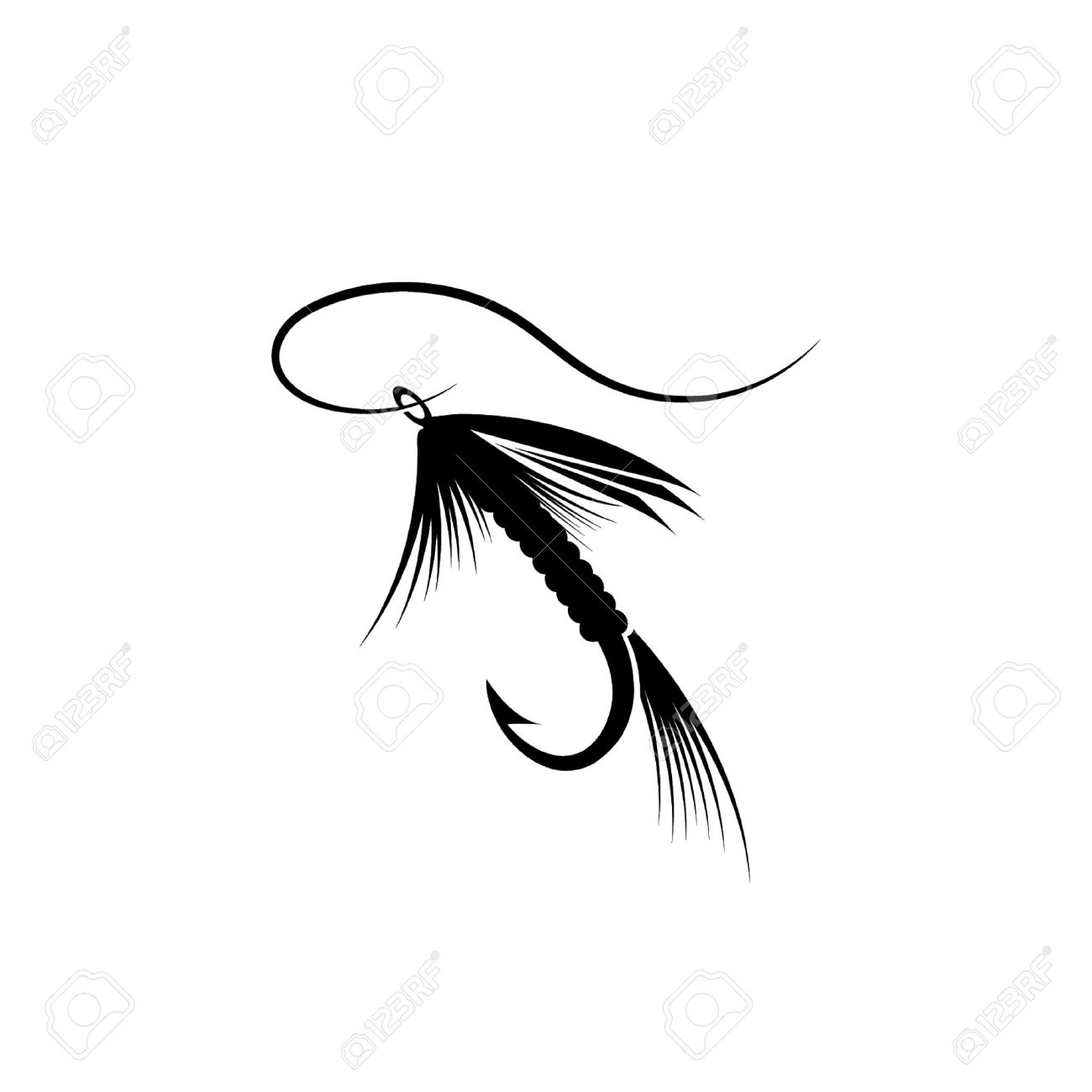 Guy Fishing Silhouette At Getdrawings Com Free For