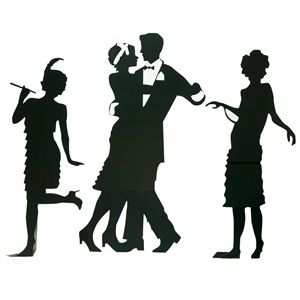 300x300 Guys And Dolls Silhouettes Kit (Set Of 3) Gatsby