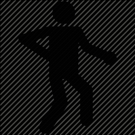 512x512 Athlete, Avatar, Exerciser, Gym, Silhouette, Sportsman Icon Icon