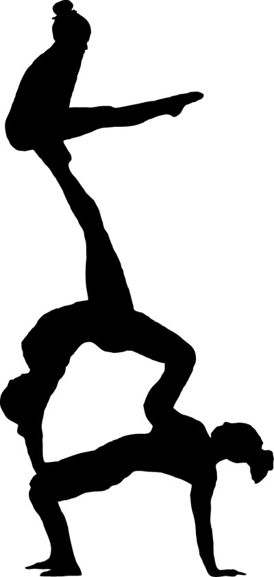 400x842 Free Gymnastics Clipart Pictures