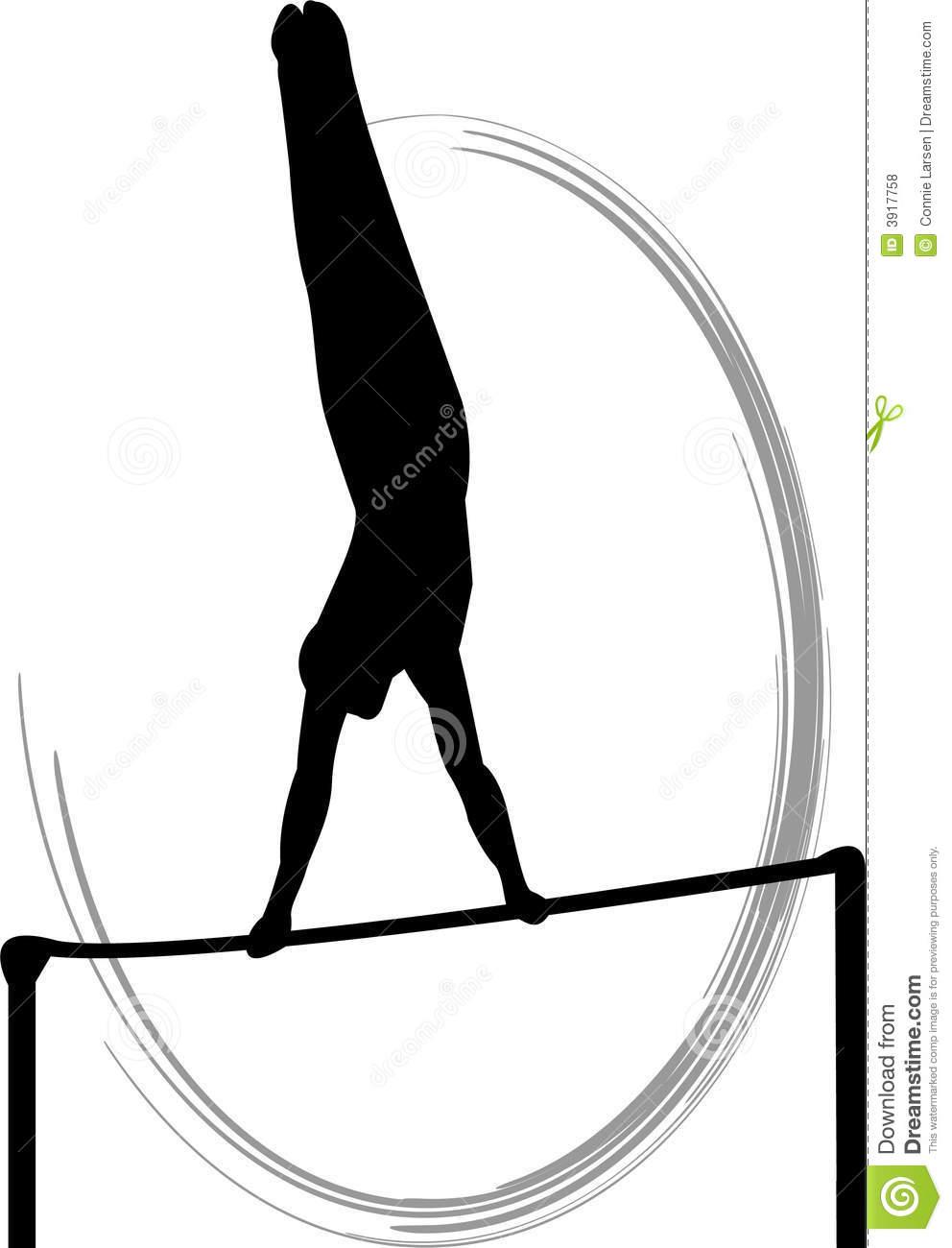 992x1300 Gymnastics Silhouette Clipart