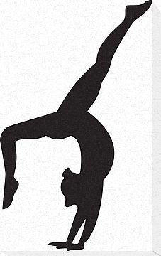 227x360 Handstand Silhouette Info