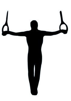 236x333 Boy Gymnastics Silhouette Clipart