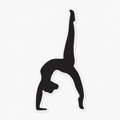 236x236 Girl Gymnastics Clipart Silhouette Clipart Panda