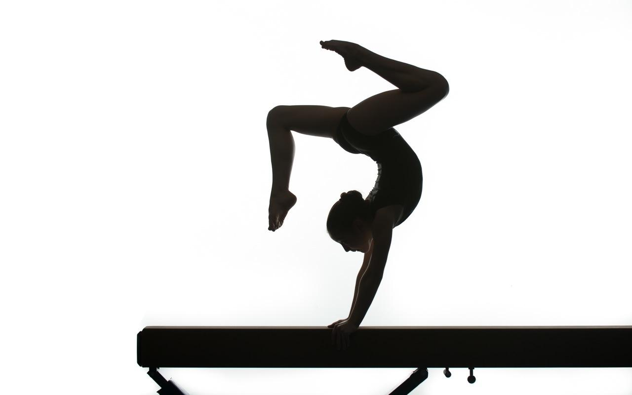 Gymnast Handstand Silhouette at GetDrawings.com | Free for ...