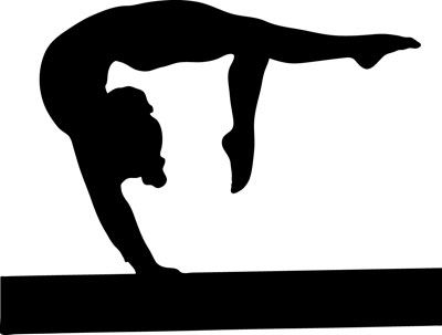 gymnast silhouette clip art at getdrawings com free for personal rh getdrawings com gymnastic clipart gymnastics clipart black and white