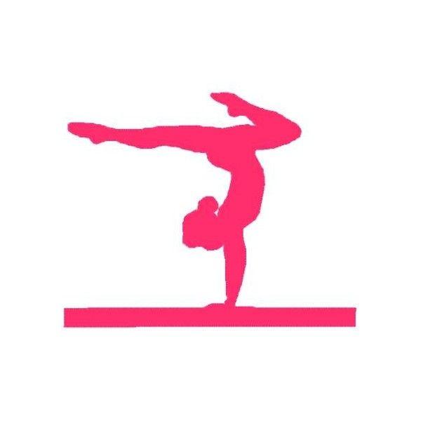 gymnast silhouette clip art free at getdrawings com free for rh getdrawings com free gymnastics clipart black and white free clipart gymnastics cartoon