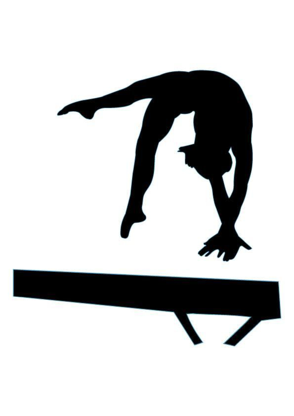 595x842 Free Gymnastics Clipart Pictures