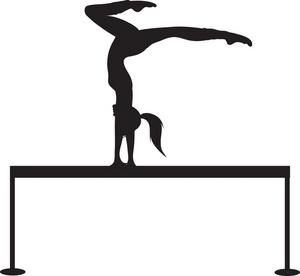 300x276 Gymnastics Clipart