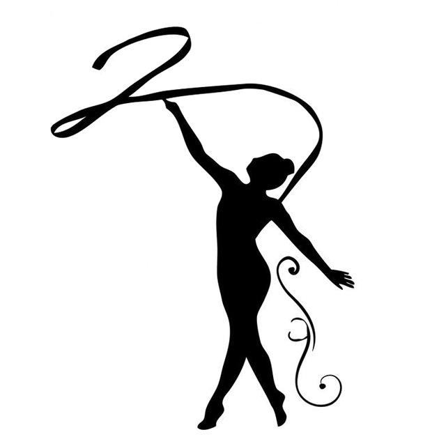 Gymnastics Images Silhouette