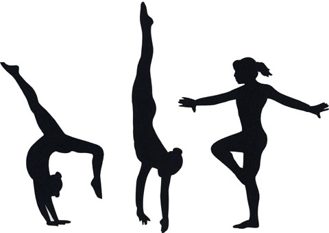 gymnastics silhouette at getdrawings com free for personal use rh getdrawings com free printable gymnastics clipart free clipart gymnastics girl