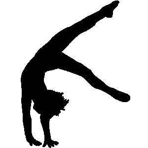 gymnastics silhouette at getdrawings com free for personal use rh getdrawings com gymnastics clip art silhouette gymnastics clip art free images
