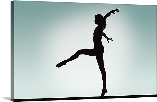 540x352 Gymnast On Balance Beam Wall Art, Canvas Prints, Framed Prints