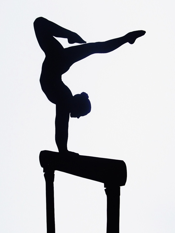 736x982 28 Best Gymnastics Silhouettes Images On Gymnastics