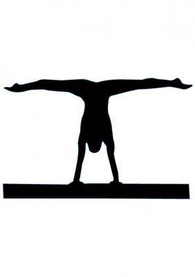 282x400 Gymnast Silhouette Clip Art 8 Clipart Panda