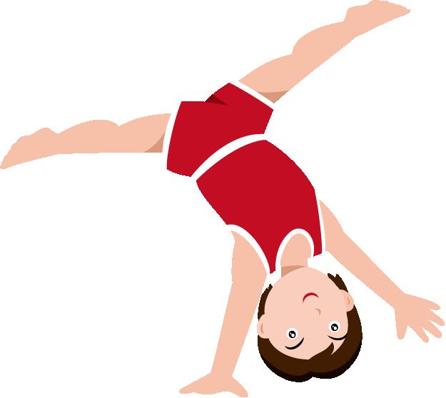625x558 Gymnastic Clip Art Clipartlook