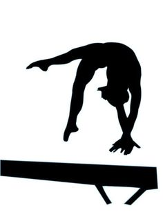 236x323 Artistic Gymnastics. Gymnastics Woman Silhouette.