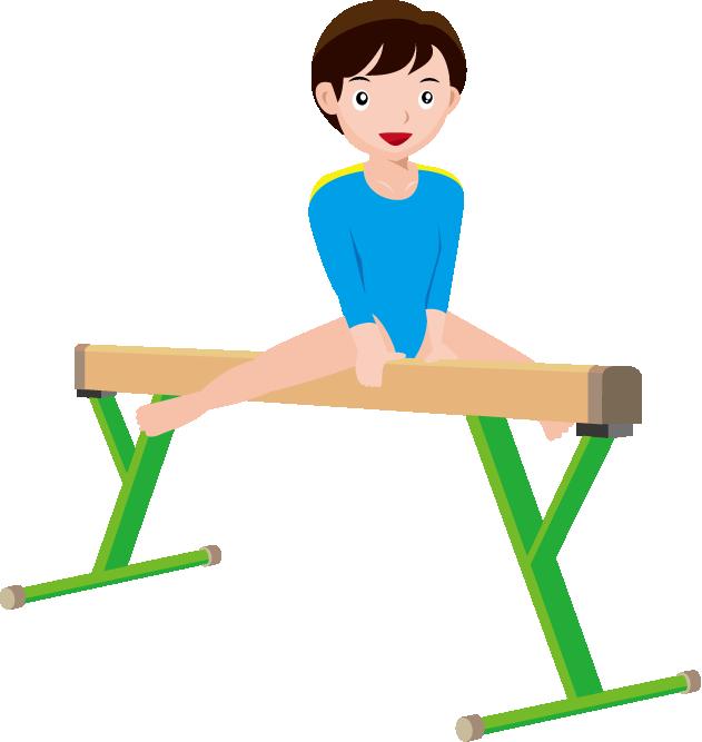 631x667 Free Gymnastics Clipart Animations