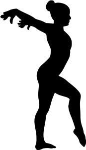 173x300 28 Best Gymnastics Silhouettes Images On Gymnastics