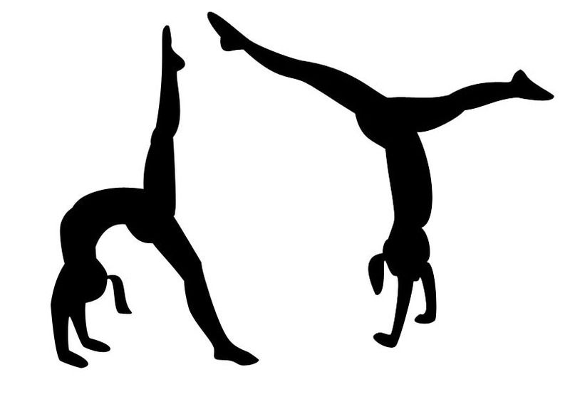 gymnastics silhouette vector at getdrawings com free for personal rh getdrawings com gymnastic clipart gymnastic clip art free