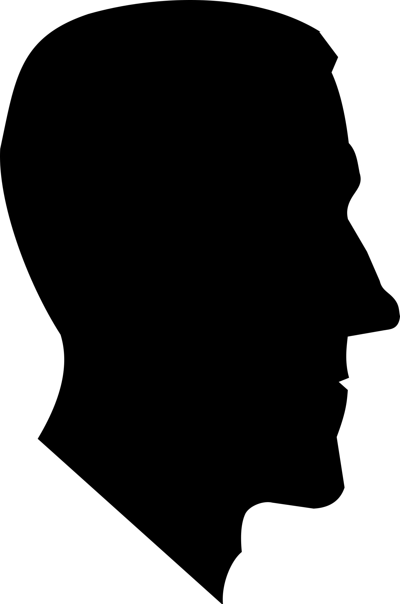 1589x2400 H. P. Lovecraft Profile Silhouette Icons Png