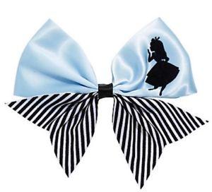 300x272 Disney Alice In Wonderland Silhouette Cheer Cosplay Hair Bow Tie