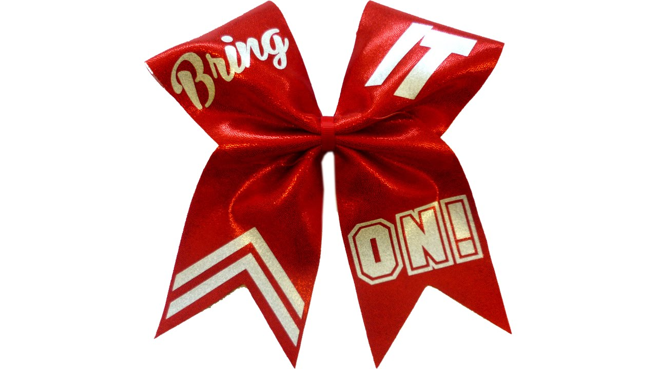 1280x720 How To Put Text On A Cheer Bow With Lisa Pay
