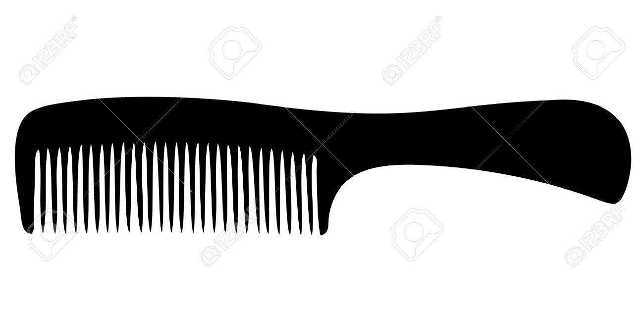 Hair Brush Silhouette