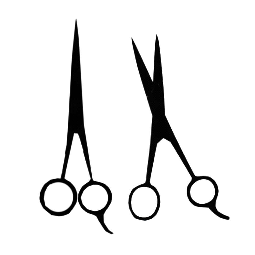 Hair Scissors Silhouette at GetDrawings.com | Free for ...