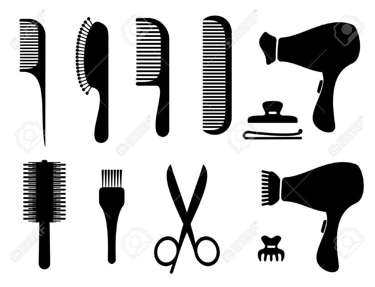 1300x993 Hair Cliparts