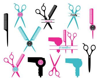 340x270 Hairdresser Svg Etsy