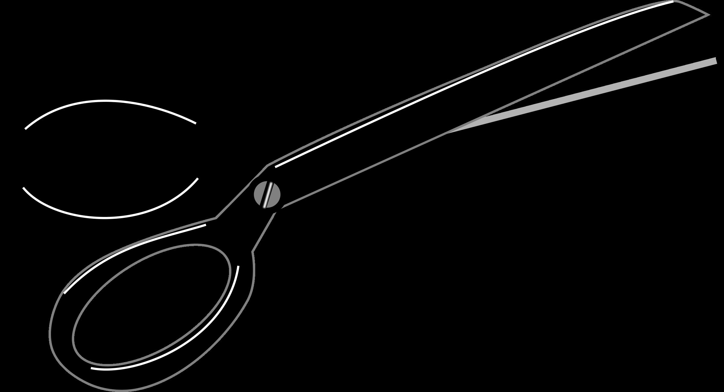 2400x1301 Fabric Scissors Clipart