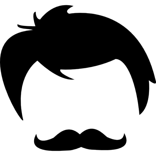 626x626 Male Hair Of Head And Face Shapes Icons Free Download
