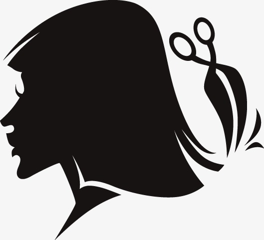 529x481 Vector Silhouette Beauty Salons, Vector, Hairdressing, Beauty Png