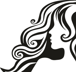 300x283 Female Hair Logo Vector (.cdr) Free Download