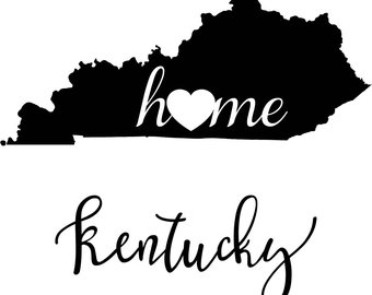 340x270 Ky Outline Etsy