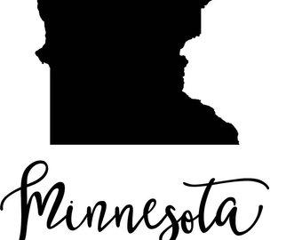 340x270 Minnesota State Svg Etsy