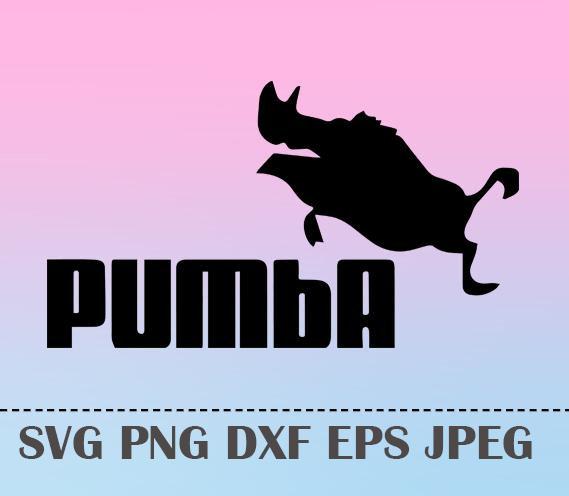 569x496 Svg Hakuna Matata Pumba Vector Layered Cut File Silhouette Cameo