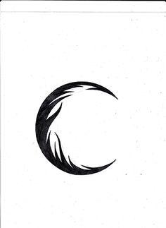 236x323 Tribal Moon Designs Tribal Crescent Moon Tattoo Drawings