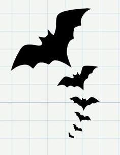 236x303 Bat Silhouette Stencil D Silhouette Bat Silhouette