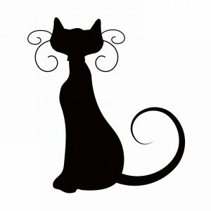 300x300 Home Design Inspiring 40 Angry Black Cat Clipart Cats